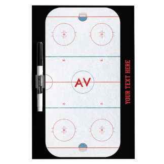Hockey Rink White Board