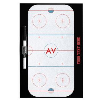 Hockey Rink White Board Dry Erase Board