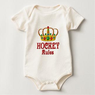 HOCKEY RULES BABY BODYSUIT