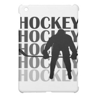 Hockey Silhouette and Gifts Case For The iPad Mini