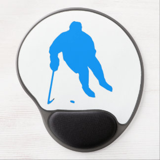 Hockey Silhouette Gel Mouse Pad