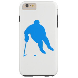 Hockey Silhouette Tough iPhone 6 Plus Case