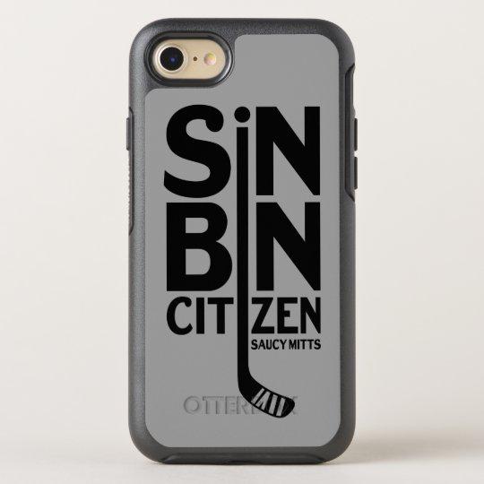 Hockey Sin Bin Citizen OtterBox Symmetry iPhone 7 Case