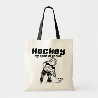 Hockey Sport of Choice Tshirts and Gifts Tote Bag