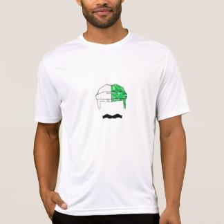 Hockey 'Stache Green T-Shirt