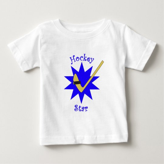Hockey Star Baby T-Shirt
