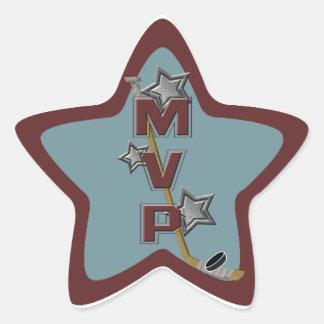 Hockey Star MVP Sticker