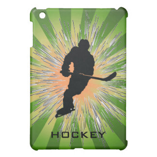 Hockey Starburst Design iPad Mini Case