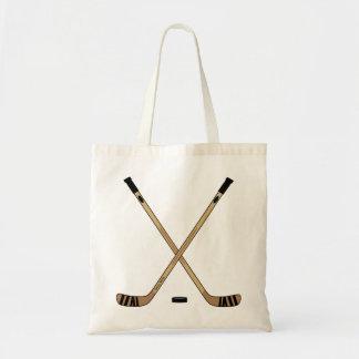 Hockey Sticks Book Tote Bag