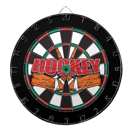 Hockey Sticks Dart Board