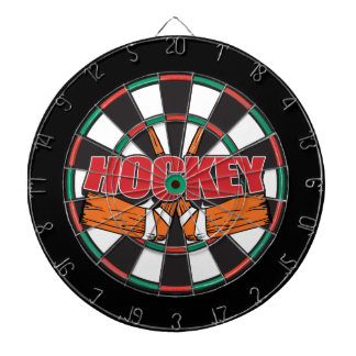 Hockey Sticks Dartboard