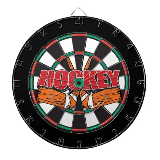 Hockey Sticks Dartboard