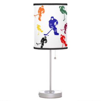 HOCKEY TABLE LAMP
