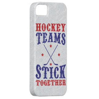 Hockey Teams Stick Together Case For The iPhone 5