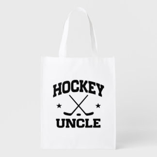 Hockey Uncle Reusable Grocery Bag