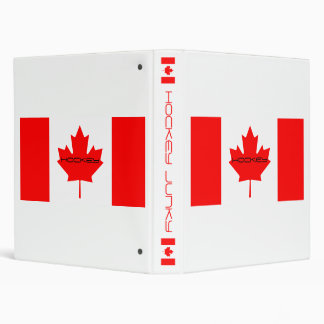 HOCKEY VINYL BINDERS
