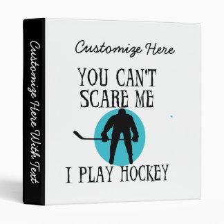 Hockey vous ne pouvez pas m'effrayer T-shirts et c Classeur Vinyle