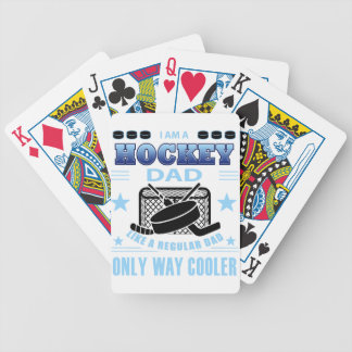 HOCKEYDAD BICYCLE PLAYING CARDS