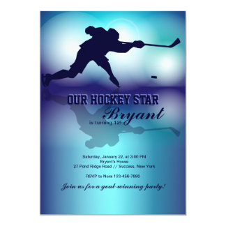 Hockey's My Game Invitation