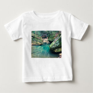 Hocking Hills Boulders Baby T-Shirt