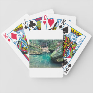 Hocking Hills Boulders Bicycle Playing Cards