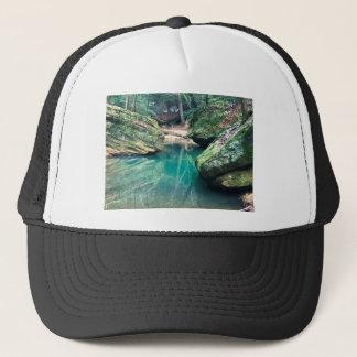 Hocking Hills Boulders Trucker Hat
