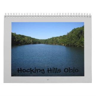 Hocking Hills Ohio Wall Calendars