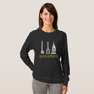 Hocus Pocus Broom Mop and Vacuum Halloween T-Shirt