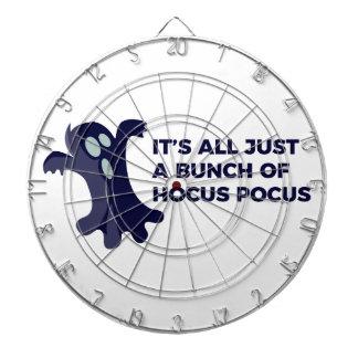 Hocus Pocus Ghost Boo Halloween Design Dartboard