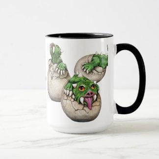 Hodag Babies black Mug