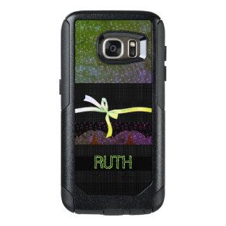 Hodge-Podge-Monogram-Ribbon-APPLE-SAMSUNG OtterBox Samsung Galaxy S7 Case