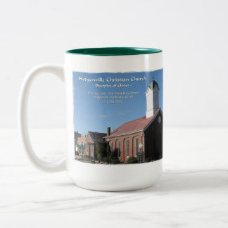 Hodgenville Christian Faith Photo Two-Tone Coffee Mug
