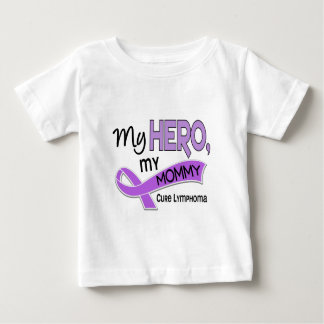 Hodgkin's Lymphoma MY HERO MY MOMMY 42 Baby T-Shirt