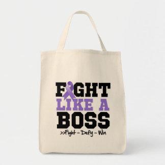 Hodgkins Lymphoma Fight Like a Boss Tote Bag