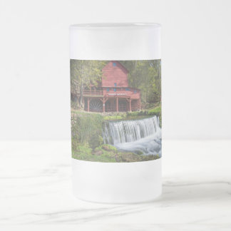 Hodgson Mill Landscape Frosted Glass Beer Mug