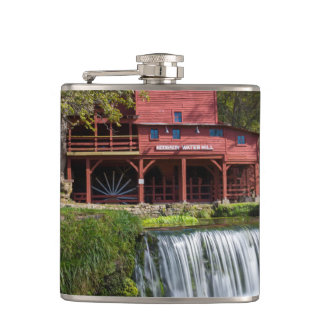 Hodgson Mill Landscape Hip Flask