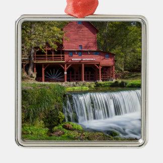 Hodgson Mill Landscape Metal Ornament