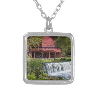 Hodgson Mill Landscape Silver Plated Necklace