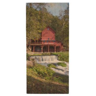 Hodgson Mill Portrait Wood USB Flash Drive