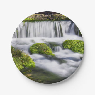 Hodgson Spring Falls 7 Inch Paper Plate