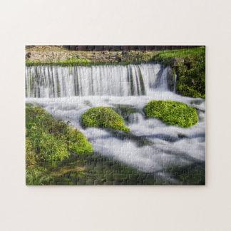 Hodgson Spring Falls Jigsaw Puzzle