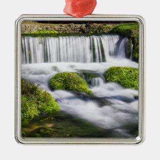 Hodgson Spring Falls Metal Ornament