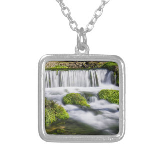 Hodgson Spring Falls Silver Plated Necklace