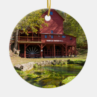 Hodgson Water Mill Ceramic Ornament