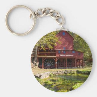 Hodgson Water Mill Keychain