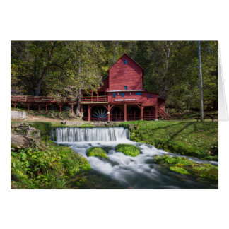 Hodgson Water Mill Landscape Card