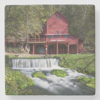 Hodgson Water Mill Landscape Stone Coaster