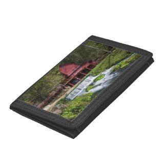 Hodgson Water Mill Landscape Trifold Wallet