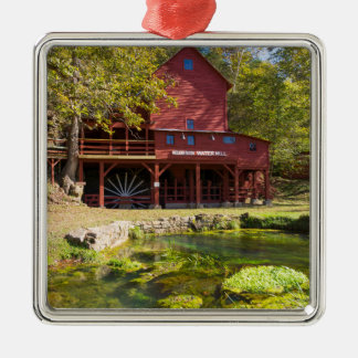 Hodgson Water Mill Metal Ornament