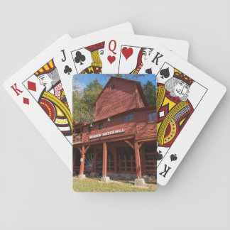 Hodgson Water Mill Playing Cards